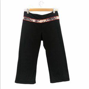 Lululemon Groove Crop Pants Black Size 6
